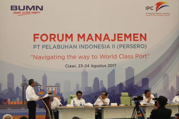 Forum Manajemen PT Pelabuhan Indonesia II